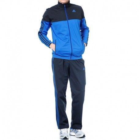 Adidas originals - Survêtement Ts Iconic Bleu Entrainement Homme Adidas 05e0c33d957