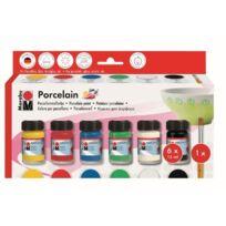 """Marabu - Peinture pour porcelaine """"Porcelain"""", kit de démarra"""