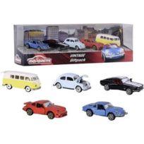 d05adb5f47f81 GÉNÉRIQUE - Vehicule Miniature Assemble - Engin Terrestre Miniature  Assemble Majorette Vintage Giftpack 5 Pcs