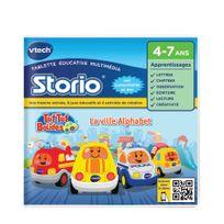 VTECH - Jeu pour tablettes Storio : Tut Tut Bolides - La ville alphabet - 232505