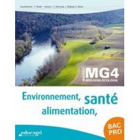 Educagri - environnement, alimentation, santé ; bac professionnel ; module Mg4 biologie-écologie