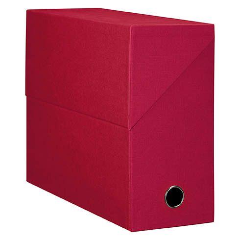 elba modling bo te de classement carton adine dos 12 cm rouge lot de 5 pas cher achat. Black Bedroom Furniture Sets. Home Design Ideas