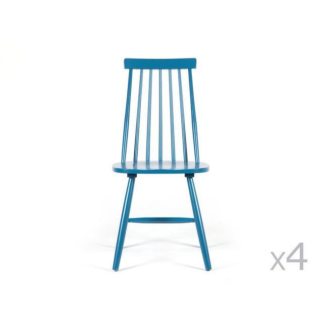 En Barreaux À Pas De 4Ralf Bois Bleu Chaise Dlm Vintage Lot 1FlKJc