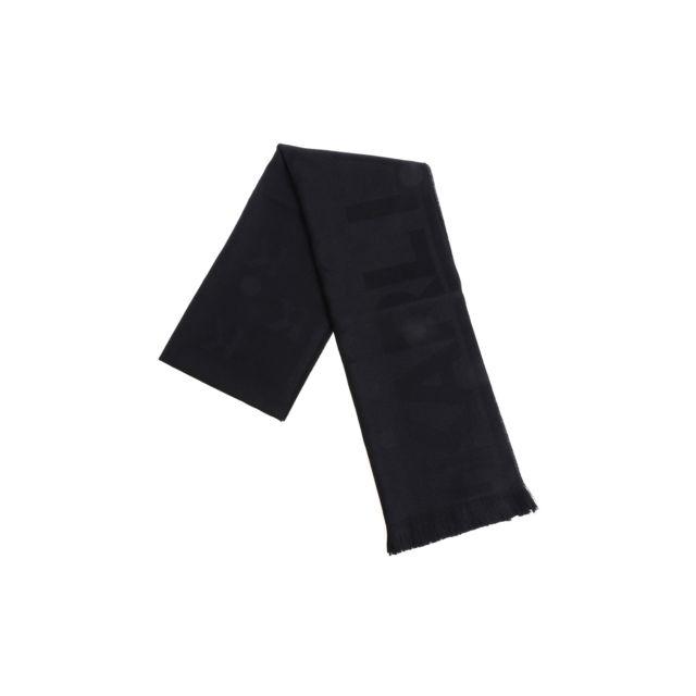Karl Lagerfeld Femme 805001582133990 Noir Laine ÉCHARPE