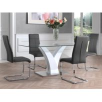 Soldes Table Salle A Manger Laque Blanc Achat Table Salle A Manger