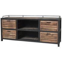 meuble tv style industriel - Achat meuble tv style industriel pas ...