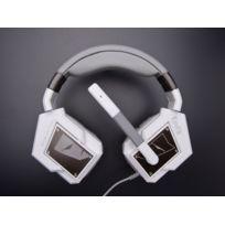 Tesoro - Micro-casque GAMING 7.1 virtuel Blanc