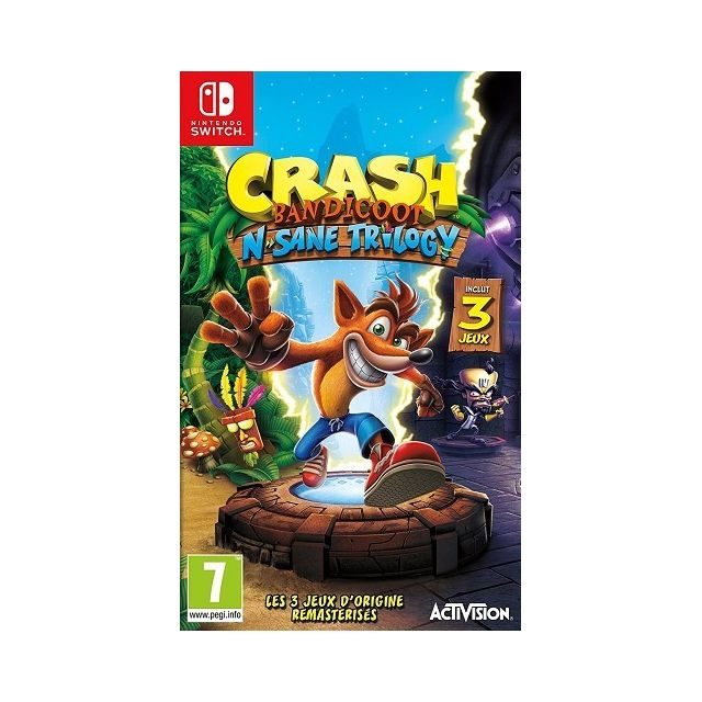 Activision - Crash Bandicoot N.sane trilogy