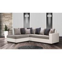 Modern Salon - Canapé Poros Bed gauche Sx soro 90/97 plus blanc