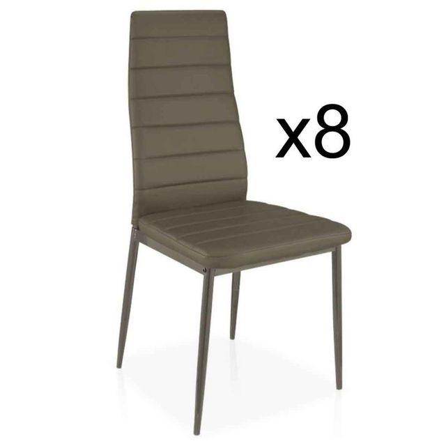 Paris Prix Lot de 8 Chaises Design \