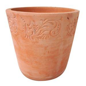 carrefour floreta pot terre cuite d30 centimeter lt41618 a1 pas cher achat. Black Bedroom Furniture Sets. Home Design Ideas