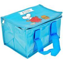 Monsieur Madame - Lunch Bag Enfant Sac Repas Isotherme Mr Et Mme Costaud Bleu