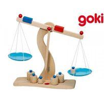 Goki - Balance de marchand avec plateaux