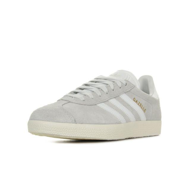 adidas gazelle gris blanc