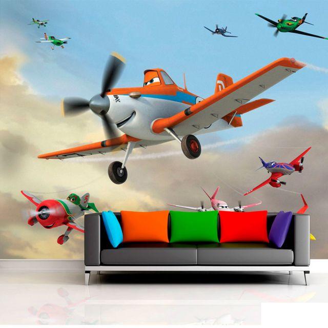 Bebe Gavroche Papier Peint Planes Dusty Disney Pixar 360x255 Cm