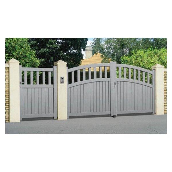sonnier bois panneaux menuiserie portail aluminium gassin longueur 3m pas cher achat. Black Bedroom Furniture Sets. Home Design Ideas
