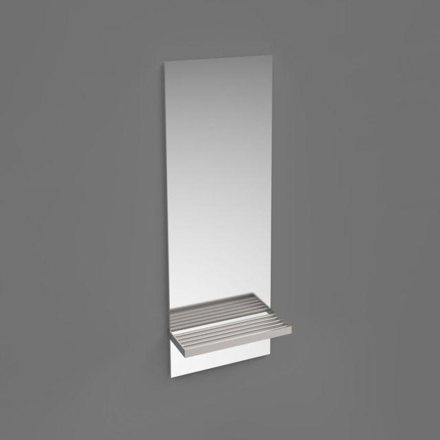 Mob-in - Miroir Salle de Bain avec Tablette L28 x H60 cm Doli - pas ...