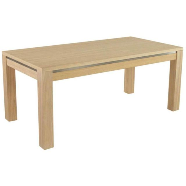 Table repas rectangulaire 180 cm avec allonge Orlando