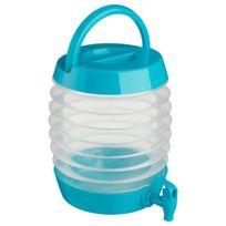 Secret De Gourmet - Distributeur de boissons rétractable 5.5L Colors bleu