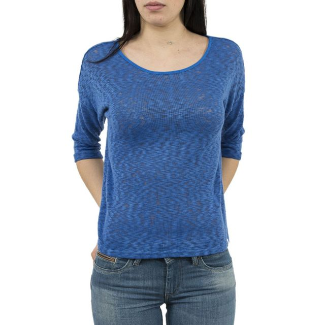 8c7d5c92dcb Lola espeleta - pull léger ts32s17 bleu Xs XL - pas cher Achat   Vente  Pulls femme - RueDuCommerce