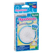 EPOCH D'ENFANCE - Recharge Perles - Blanches Aquabeads