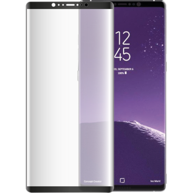 bigben connected verre trempe galaxy note 8 transparent pas cher achat vente protection. Black Bedroom Furniture Sets. Home Design Ideas