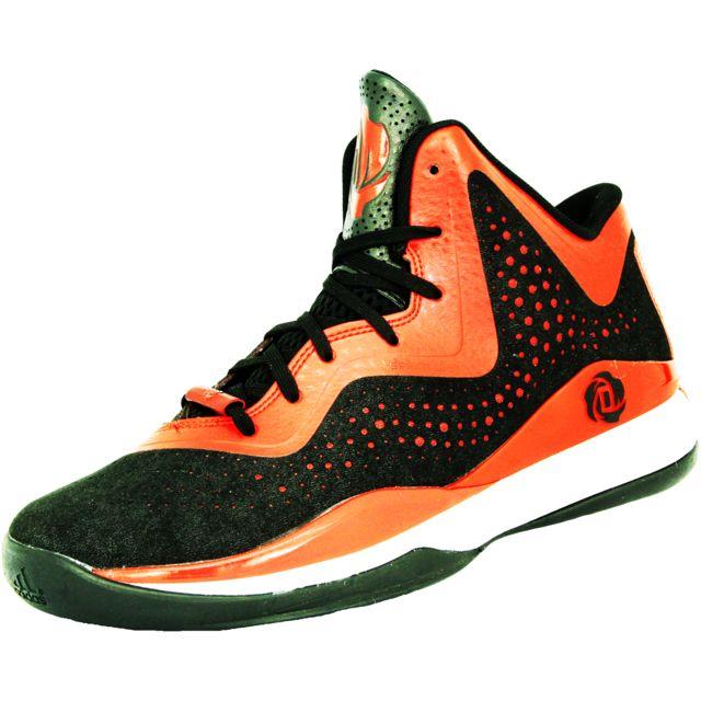 Adidas D ROSE 773 III Rouge Noir Blanc D73914: