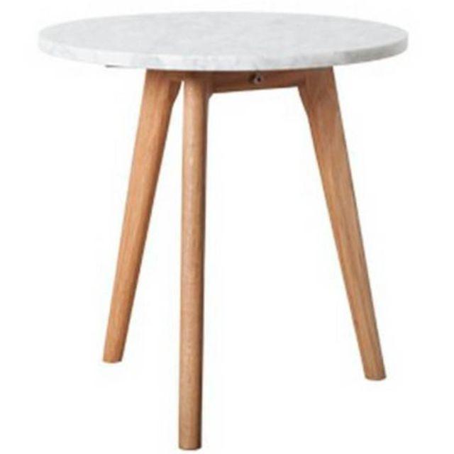 Inside 75 Zuiver Table basse Stone moyen modèle en marbre