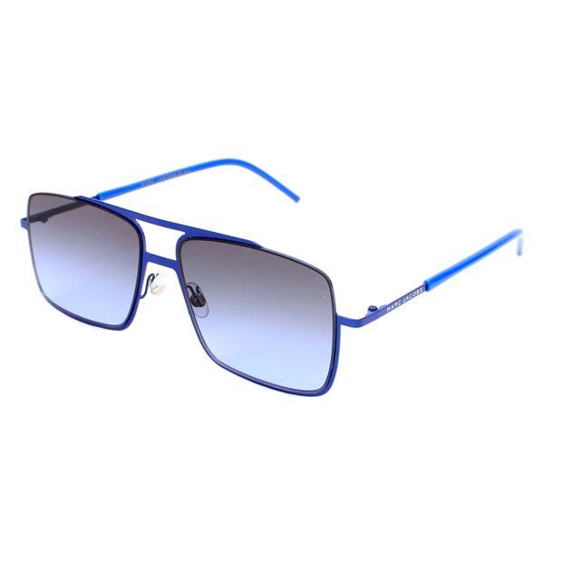 6e793e1e928 Marc Jacobs - Lunettes de soleil Marc-35-S W3B HL Homme Bleu - pas ...