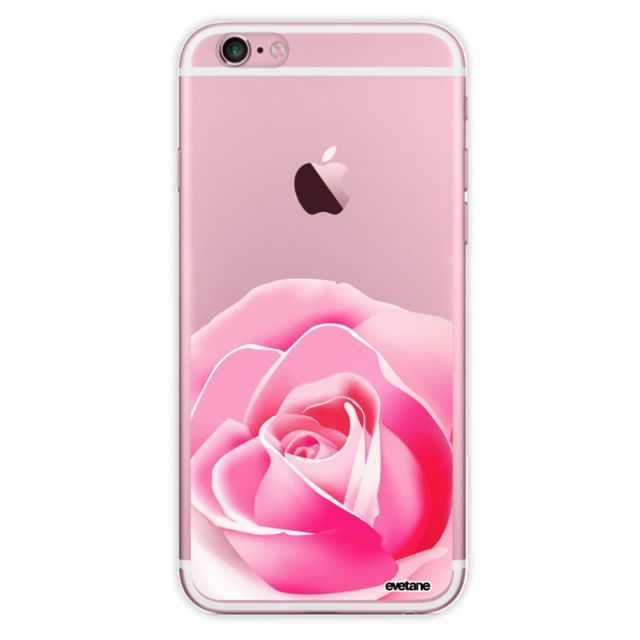 coque iphone - 6 rose
