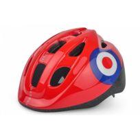 Polisport - Casque Vélo Enfant Target 52/56 cm + Bidon 300 ml + Porte Bidon