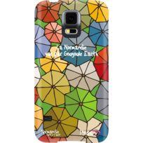 Hihihi - Coque rigide Normandie vue par Gougoule Earth pour Samsung Galaxy S5