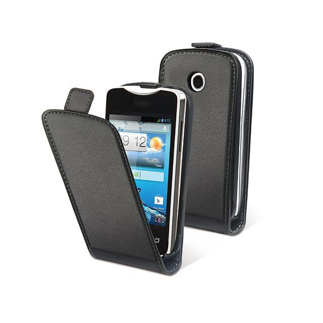 MUVIT - Étui à rabat ''Slim'' pour Acer Liquid Z3 - Noir