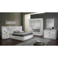 Chambre coucher noir blanc - catalogue 2019 - [RueDuCommerce ...