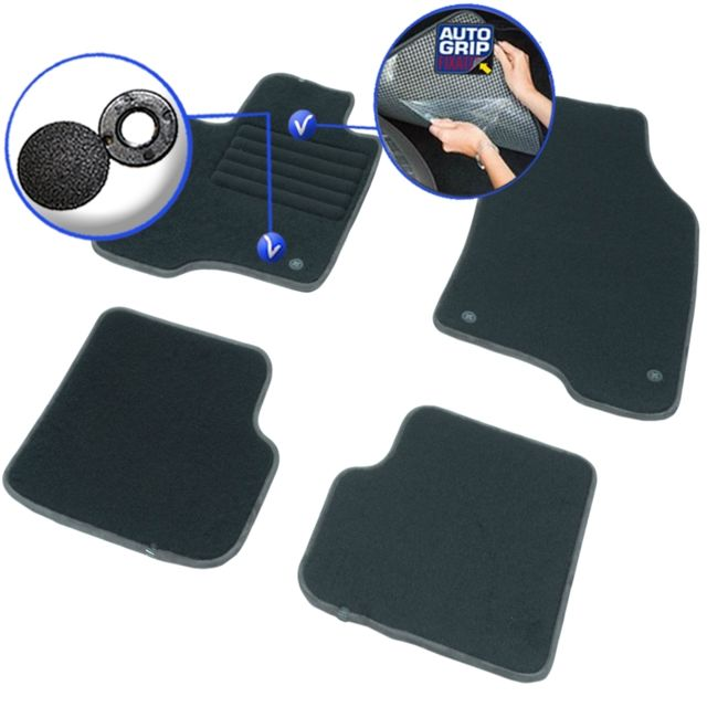 dbs tapis auto voiture sur mesure pour fiat panda de 02 2012 2018 4 pi ces gamme elite. Black Bedroom Furniture Sets. Home Design Ideas