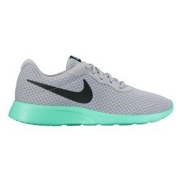 3c2f77696298 Nike - Chaussures Tanjun blanc vert - pas cher Achat   Vente Baskets homme  - RueDuCommerce