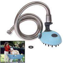 Wewoo - Shampooing multifonctionnel de bain de bleu douche de d'animal familier avec le massage