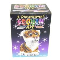 Kitfix Swallow Group Ltd - Ksg 3D Sequin Art Tigre
