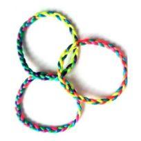 76d952fcc1d7c Sans - Lot de 12 Bracelet Bresilien - Couleur Aléatoire - Kermesse Enfant -  015