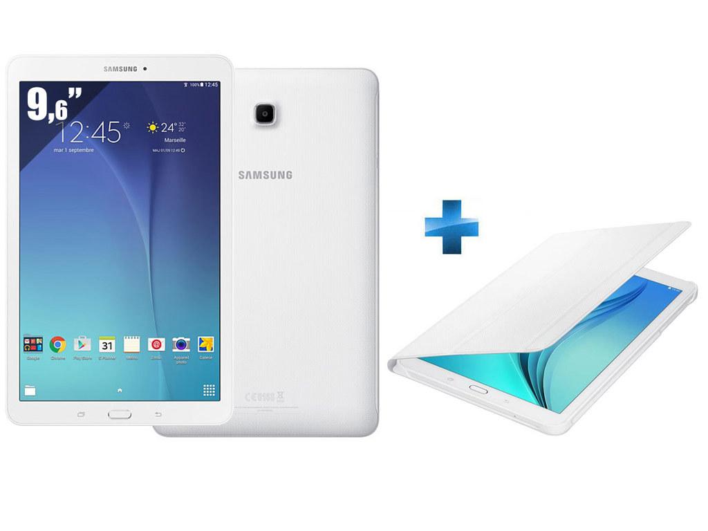 Galaxy Tab E - 9,6''- 8 Go - Blanc