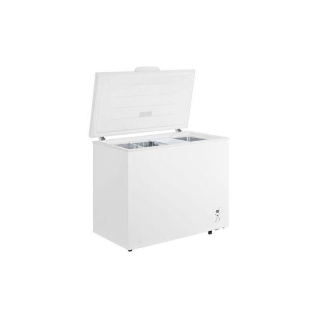 Harper Hisense Ft325d4bw2 - Congelateur Coffre 250l - Froid Statique Reversible - A++ - L11,4xh83,3 - Blanc