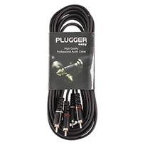 Plugger - Câble Bretelle Rca Mâle - Rca Mâle 6m Easy