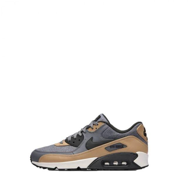 buy online d2d62 2e709 Nike - Baskets Air max 90 Prm - Ref. 700155-010 - pas cher Achat   Vente Baskets  homme - RueDuCommerce