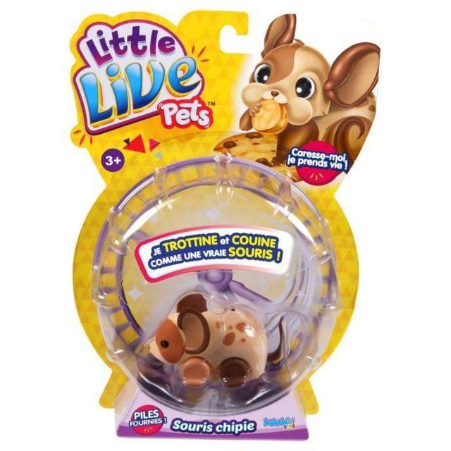 2c67f7f8901 Little Live Pets - Souris - Glouton - pas cher Achat   Vente Animaux -  RueDuCommerce