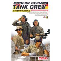 Meng - Figurines militaires : Équipage de blindé allemand moderne