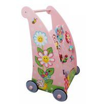 FANTASY FIELDS - Trotteur marcheur pousseur chariot de marche tableau d'éveil bébé TD-11639A