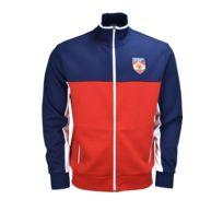 Ralph Lauren - Veste zippée Espagne bleu marine, rouge et blanche pour homme