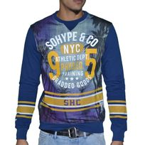 Sohype - So Hype - Sweat Shirt - Enfant - Athletic Dept Junior - Bleu