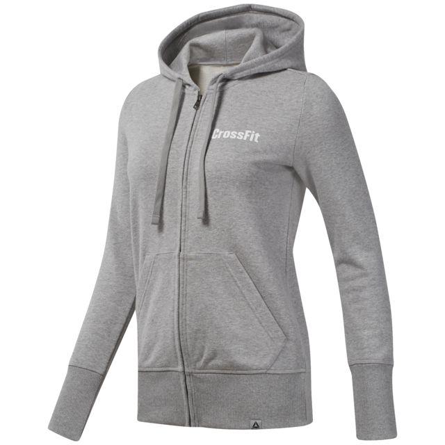 Reebok - Veste à capuche femme CrossFit -