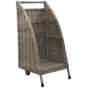 aubry gaspard chariot buches roulettes pas cher achat vente accessoires po les bois. Black Bedroom Furniture Sets. Home Design Ideas